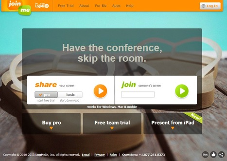 join.me – Free Screen Sharing and Online Meetings   Innovative eLearning   Scoop.it