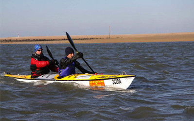 Un Caennais va tenter de traverser la Manche en kayak « Côté Caen   Le kayak de mer   Scoop.it