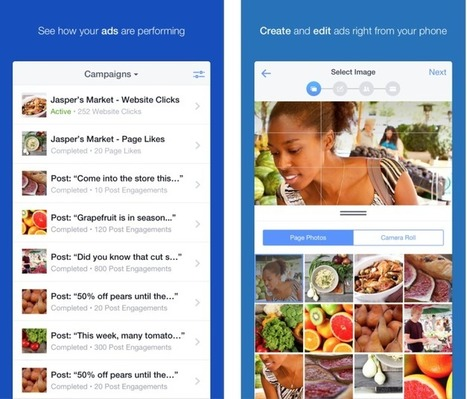 Facebook, Now With Over 2 Million Active Advertisers, Launches Ads Manager App ForiOS   Social Media & Digital Careers   Scoop.it