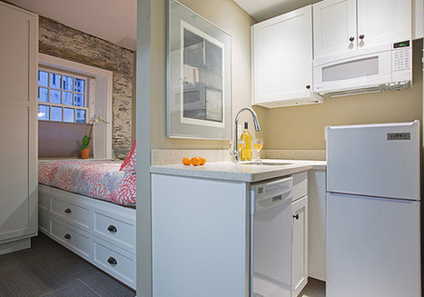 Check out the insanely small, 225-square-foot apartments Americans are moving into   Business News & Finance   Scoop.it