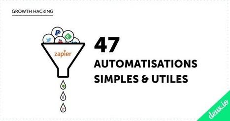 Zapier: 47 Automatisations pour gagner (beaucoup) de temps | Community Management & CRM | Scoop.it