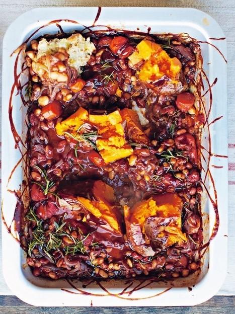 BBQ Baked Beans | Vegetables Recipes | Jamie Oliver | My Vegan recipes | Scoop.it