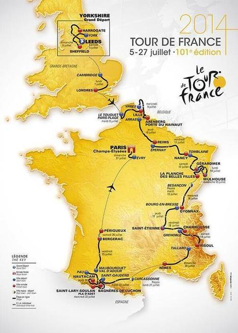 Twitter / letour: ★ OFFICIAL 2014 TOUR DE FRANCE ... | Sport | Scoop.it