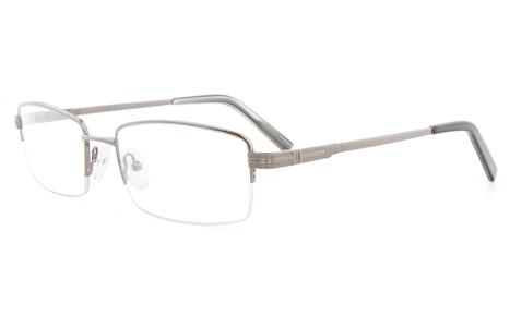 Gun 2113 Semi-rimless Oval,Round Glasse | anninobi | Scoop.it