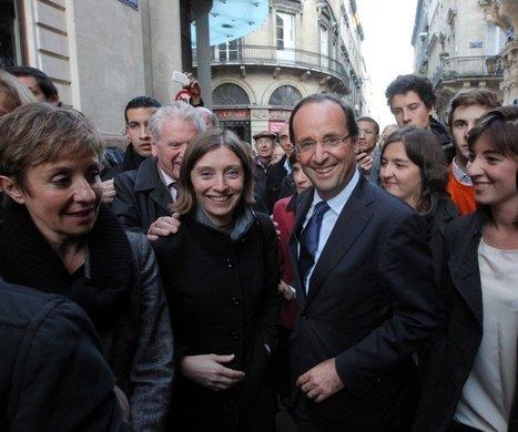 Hollande s'offre un bain de foule et de hourras à Bordeaux, terre de Juppé | Hollande 2012 | Scoop.it