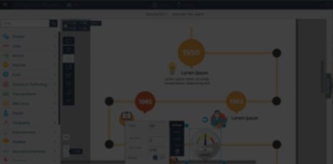 Create Interactive Online Presentations, infographics, animations & banners in HTML5 - Visme by Easy WebContent | Education Technology - theory & practice | Scoop.it