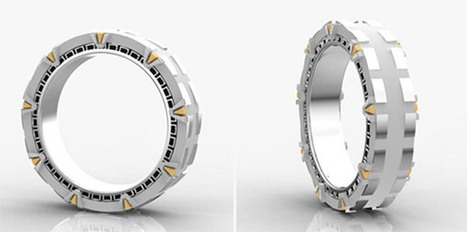 Stargate Wedding Ring Spins You into a Whole New World | All Geeks | Scoop.it