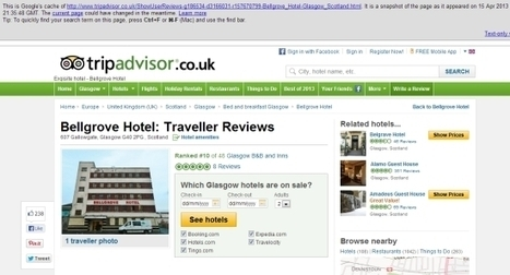 Homeless hostel ranked in city top ten on TripAdvisor as pranksters game the system | Tourism Social Media | Scoop.it