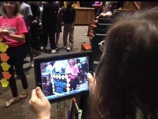 School celebrates one-to-one iPad program with mock graduation | We're Learning with iPads | Scoop.it