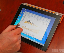 OnLive Cloud Desktop hands-on: Windows 7 streaming to an iPad (video)