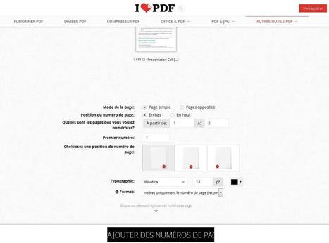 Comment transformer un fichier word, powerpoint, jpg en PDF ou fusionner, numéroter, diviser un fichier PDF   Outils pour la gestion de l'information - Tools for information management   Scoop.it