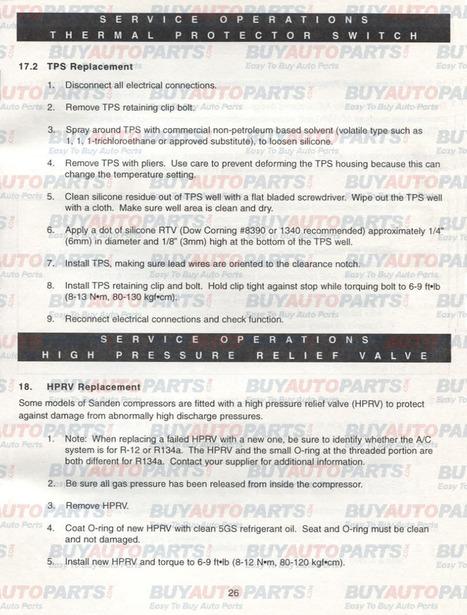 How to repair a high pressure release valve | Lexus ES350 Parts | Scoop.it