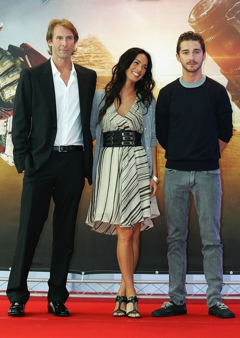 HD Photos of Shia LaBeouf & Megan Fox Promoting Transformers 2 in South Korea | Showbiz | Scoop.it