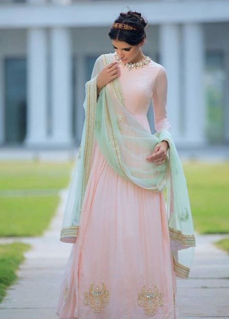 Awesome Bridal Wear Anarkali Frocks For Summer | Live Style Vogue | stylish lawn dresses | Scoop.it