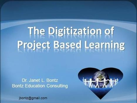 PBL Tech Presentation Ppt   Digitization of Project Based Learning   Scoop.it