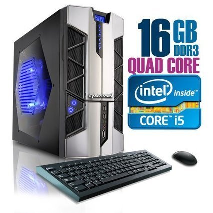 CybertronPC X-PLORER2 2101BBSQ, Intel Core i5 Gaming PC, W7 Home Premium, Black/Silver | Best Desktop Reviews Online | Scoop.it