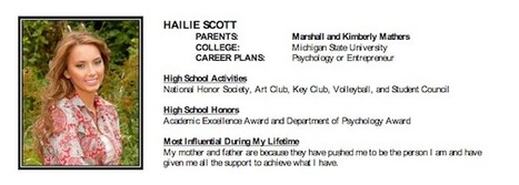 Eminem's Daughter Hailie Scott Graduates From Michigan's Chippewa Valley ... - HipHopDX   EMINEM   Scoop.it