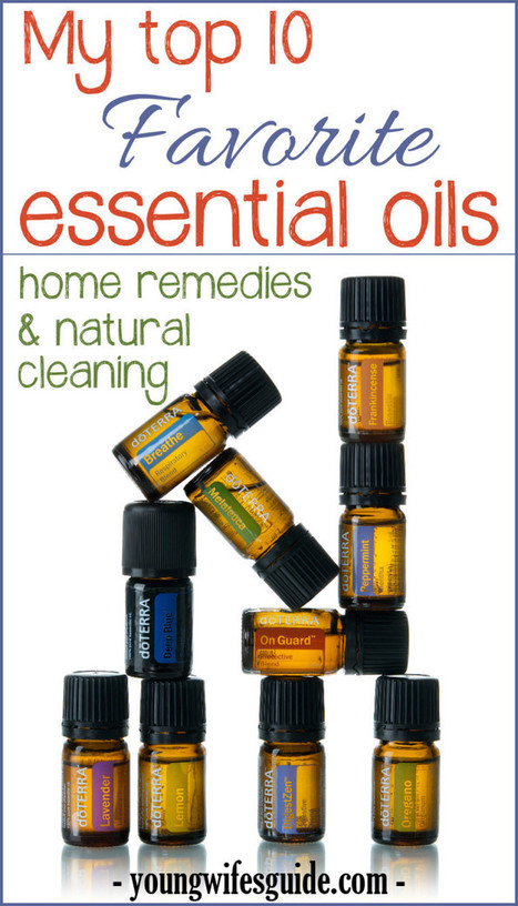 Top 10 Favorite Essential Oils - Young Wife's Guide | Young Wife's ... | Handcrafted Soap | Scoop.it