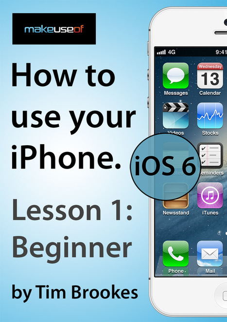 iPhone 1: Beginners (iOS 6) | mrpbps iDevices | Scoop.it