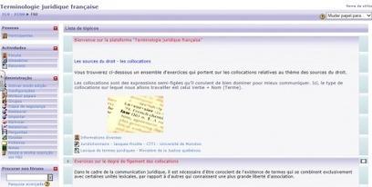 L'enseignement du français juridique en centre de langues ... - Revues.org | FLE, TICE & éducation aux médias | Scoop.it
