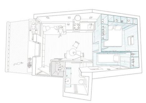 Harbour Attic Apartment by Gosplan - Design Milk | Interior & Decor | Scoop.it