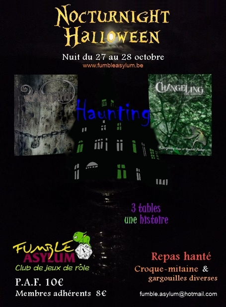 Nocturnight Halloween : Haunting Asylum | Jeux de Rôle | Scoop.it