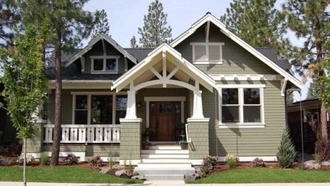 Le style Craftsman : architecture américaine   I love it !   Scoop.it