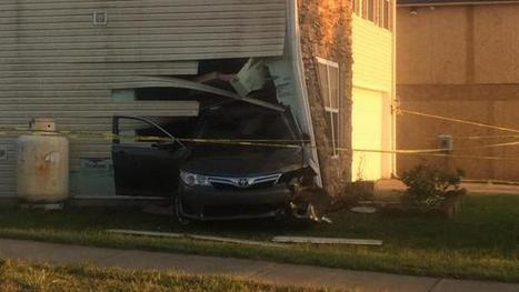 Car crashes through Durham home, driver charged with DWI - WRAL.com | Car Accident Injury News | Scoop.it