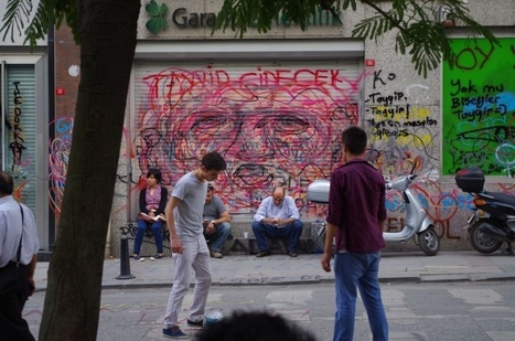 Street art à Istanbul : la rébellion sur les murs. | Géographie : les dernières nouvelles de la toile. | Scoop.it