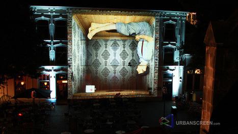 Type de diffusion : architectural projection | Espaces de diffusion sur écrans | Scoop.it