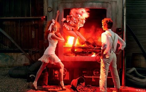 Annie Leibovitz lights Lady Gaga in Vogue Hansel + Gretel story   DSLR video and Photography   Scoop.it