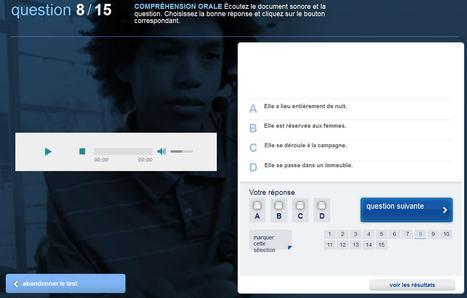 Compréhension Orale: Tests de français | Espace Pédagogique FLE | Scoop.it