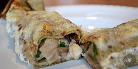 Crêpe forestière | student-food | Recipes | Scoop.it