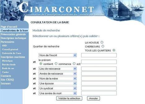CIMARCONET | CGMA Généalogie | Scoop.it