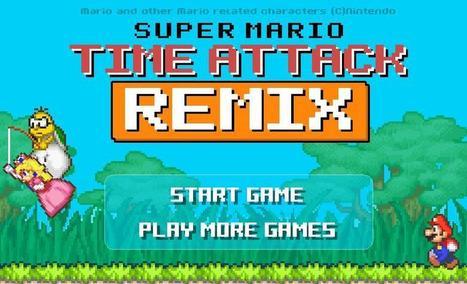 Super Mario Time Attack Remix   Toon Games   Scoop.it