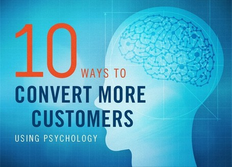 10 Ways You Will Convert More Customers With Easy To Apply Psychology [Infographic] | Digital-News on Scoop.it today | Scoop.it