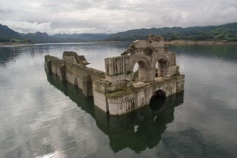 Mexique: une église antique émerge après une sécheresse - LaPresse.ca | Salvete discipuli | Scoop.it
