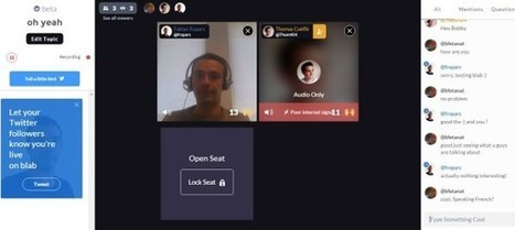 Blab.im : un outil gratuit de chat vidéo en live | Time to Learn | Scoop.it