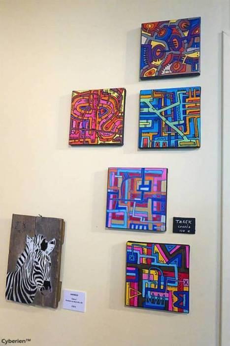 Exposition collective au Lavo//Matik à Paris   Les créations de Tarek   Scoop.it