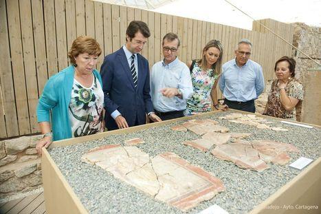 Cartagena: Los arqueólogos hallan en el Foro pinturas de musas únicas en España | EURICLEA | Scoop.it