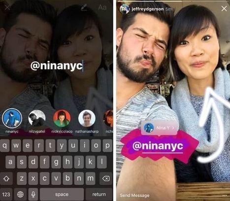 Instagram devient une vraie plateforme de partage de liens d'articles | * LE MIAM MIAM BLOG * et les réseaux sociaux | Scoop.it