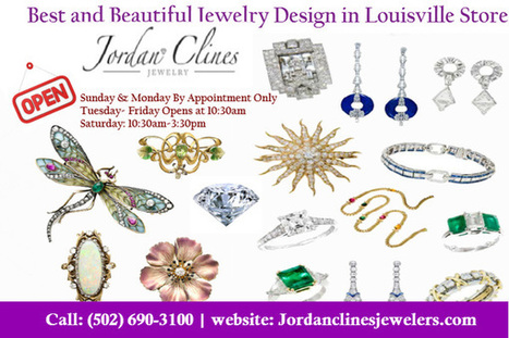 Best and Beautiful Jewelry Design in Louisville Store   Jewelry Appraised & Purchased Louisville   Scoop.it