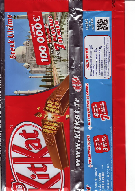 Jeu concours KitKat via un QR code | QR code experience | Scoop.it