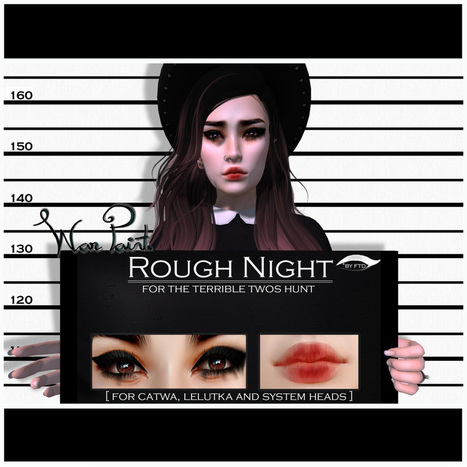 WarPaint* for the Terrible Twos hunt | 亗 Second Life Freebies Addiction & More 亗 | Scoop.it
