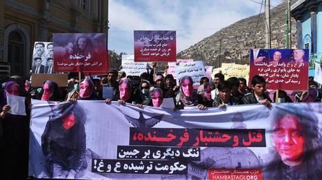 Afghan woman beaten by mob becomes symbol for rights, change | Social Media Slant 4 Good | Scoop.it