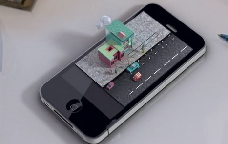Here's How Magical A 3D iPhone Would Be In Real Life [Video] | Cult of Mac | 3d Innovations | Scoop.it
