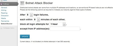 Botnet Attack Blocker for WordPress Protects Sites Against Brute-Force Attacks - Softpedia | Wordpress-Core-Capability | Scoop.it