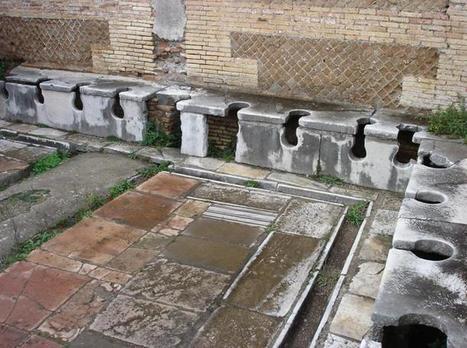 Los peligros de utilizar las letrinas públicas en la antigua Roma | Didáctica de las Ciencias Sociales, Geografía e Historia | Scoop.it
