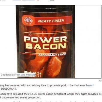 Voici le nouveau déodorant qui sent… le bacon | Mais n'importe quoi ! | Scoop.it