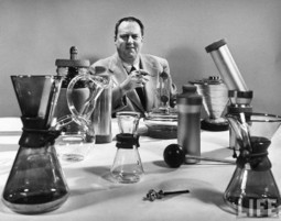 Mr. Chemex: the eccentric inventor who reimagined the perfect cup of coffee - Boing Boing | Coffee News | Scoop.it